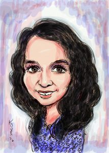 Molly caricature