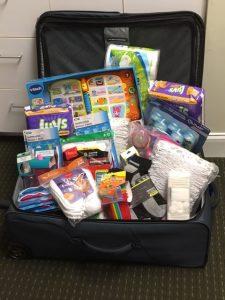 suitcase full