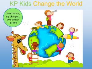 Change the world label