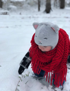snow baby cropped