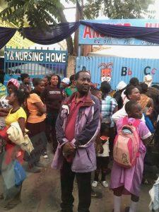 Kenya WS crowd man