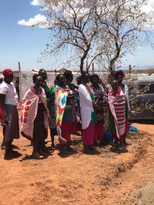 Kenya WS crowd women